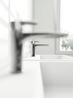 3d Визуализация интерьера ванной комнаты для большой семьи