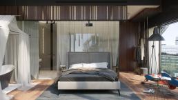 3d Визуализация интерьера квартиры для холостяка