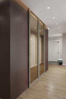 Визуализация интерьера квартиры для молодой пары жк RedSide